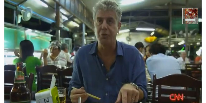 ¿El primer video musical de Anthony Bourdain? 3