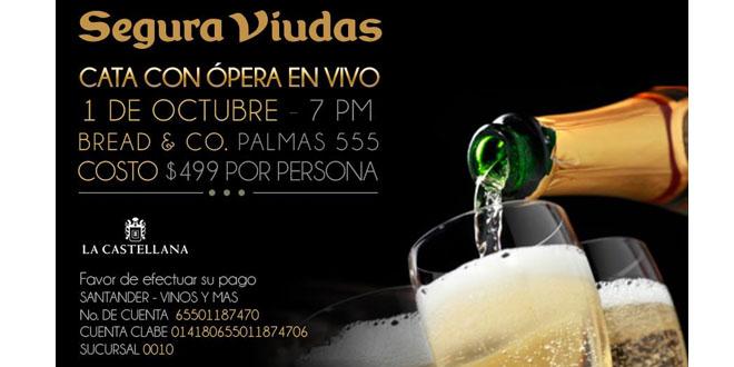 Disfruta de una cata con ópera en vivo 3