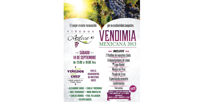 Vendimia Mexicana 2013