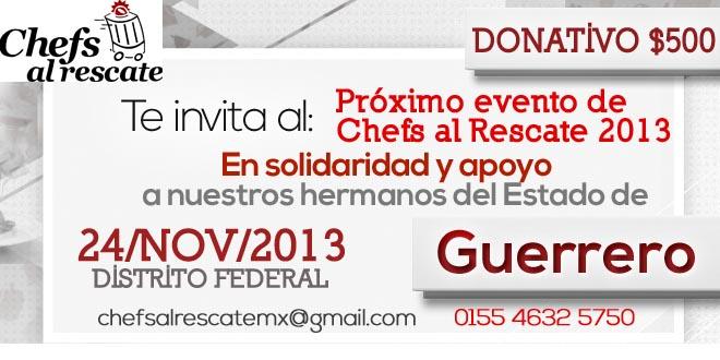 Chefs al rescate: apoyan a nuestros hermanos de Guerrero 4