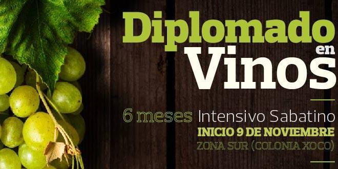 Círculo de Sommeliers de México invitan a su diplomado de vinos