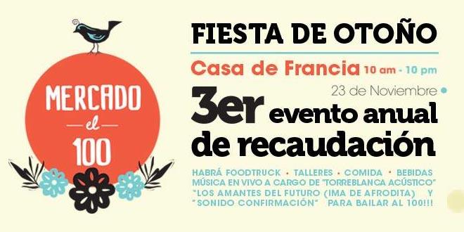 Mercado el 100 celebra su Fiesta de Otoño