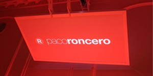 Paco Roncero Taller