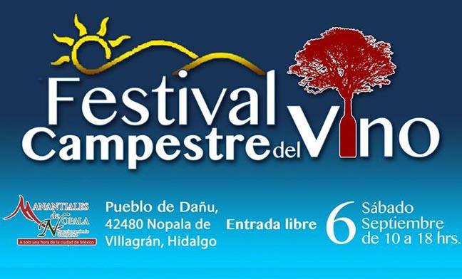 Asiste al Festival Campestre del Vino