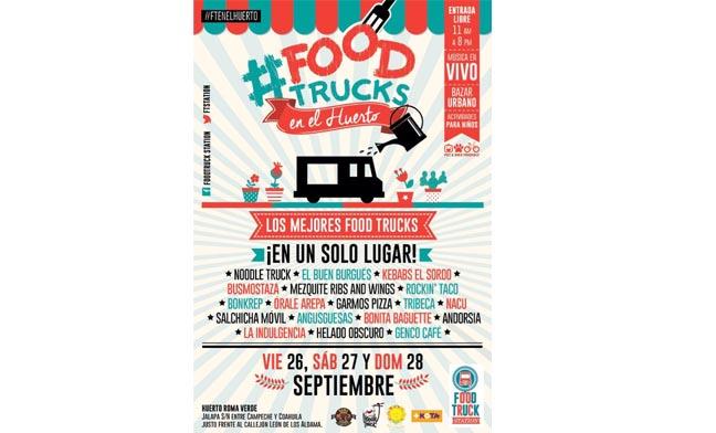 Food Trucks en el Huerto Roma Verde 9
