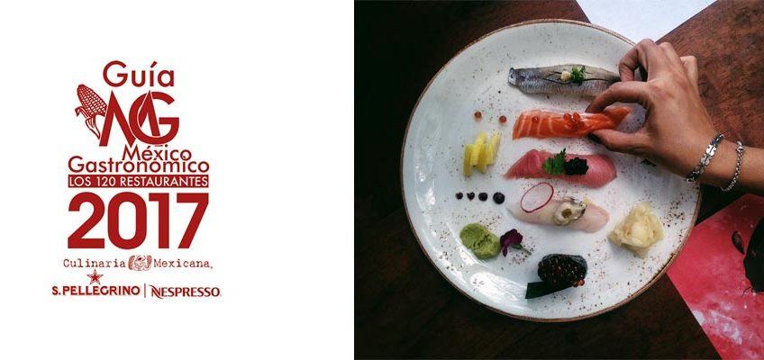 Los 120 restaurantes de la Guía México Gastronómico