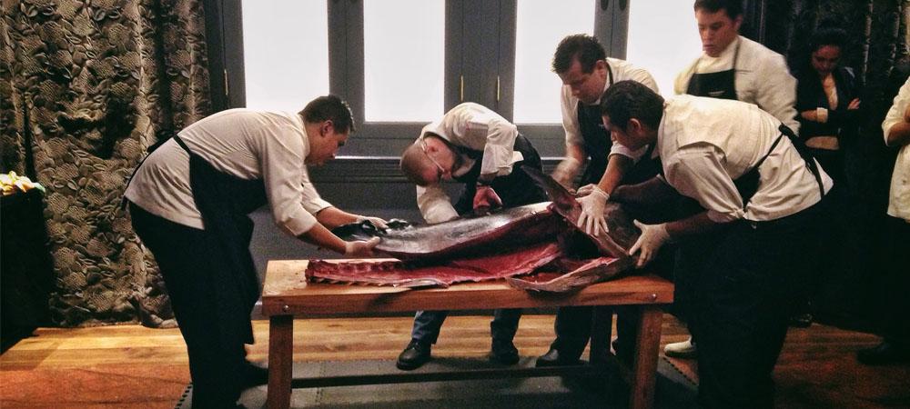 El ronqueo del atún, un arte milenario japonés 2